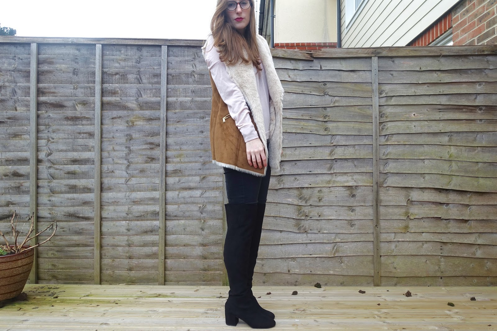 styling asos thigh high boots