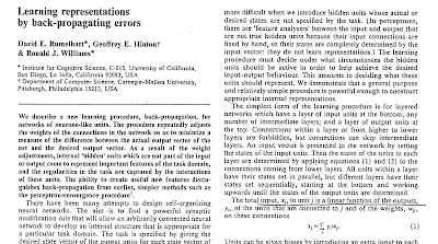 Training Neural Networks with Backpropagation. Original Publication.