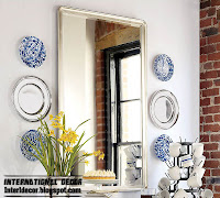 Serving trays on the walls unusual wall decor ideas