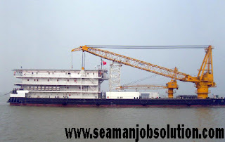 Crane operator for offshore vessel job