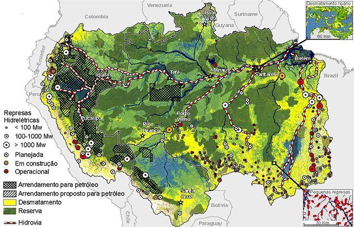 Ecossistema de Água Doce na Amazônia