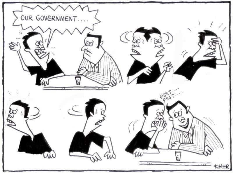 kartun malaysia about barisan government