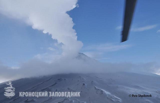 Местность вокруг вулкана Камбальный покинули все животные