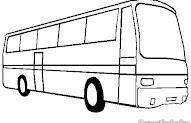 22 Gambar Hitam Putih Bus Inspirasi Spesial
