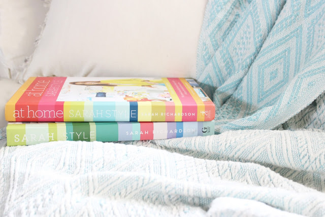 Sarah richardson, Sarah Richardson design, Sarah Richardson textiles, home decor, sarah style, throw, throw blanket, tea, cozy weekends, books, home decor books, Sloane tea, weekends, relaxing weekends