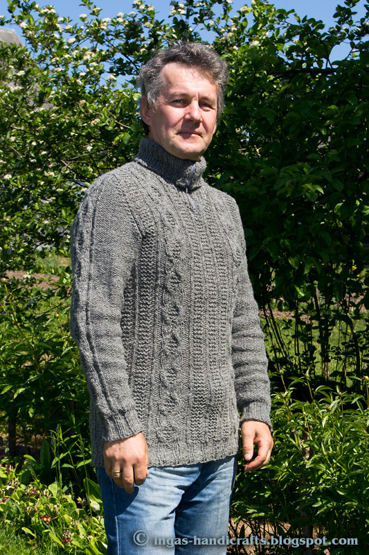 Palmikutega sviiter / Sweater with Cables