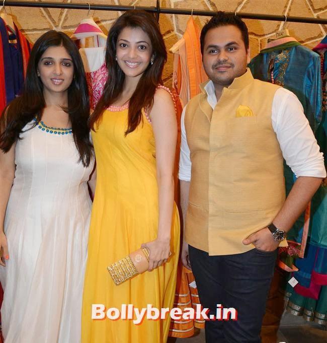 HUE Multi-designe store launch, Mandira Bedi & Kajal Aggarwal at HUE Store Launch