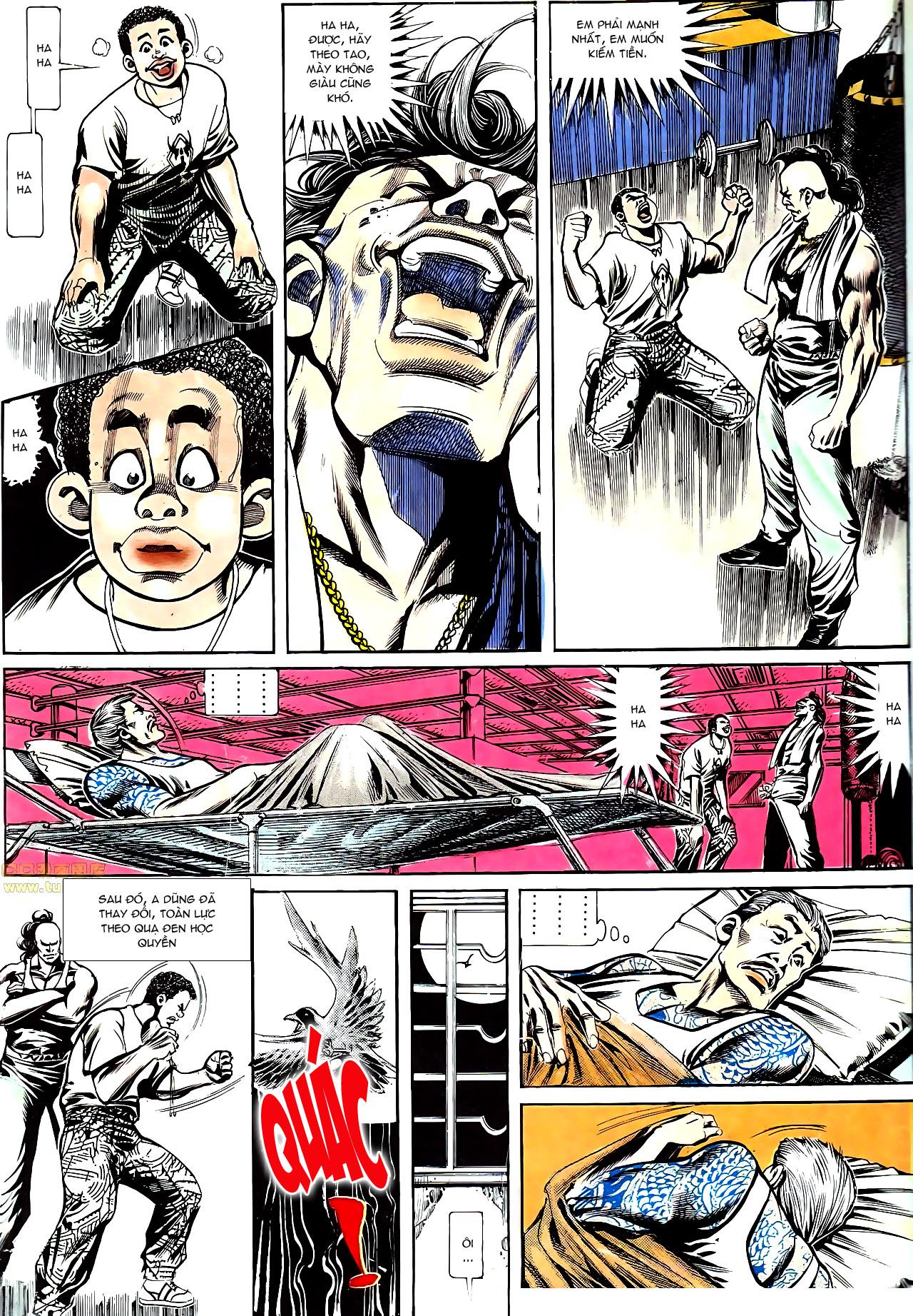 Người Trong Giang Hồ chapter 152: trăng sáng chiêm đông trang 22