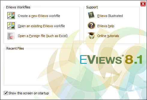 EViews 8.1 Enterprise Edition Full Crack