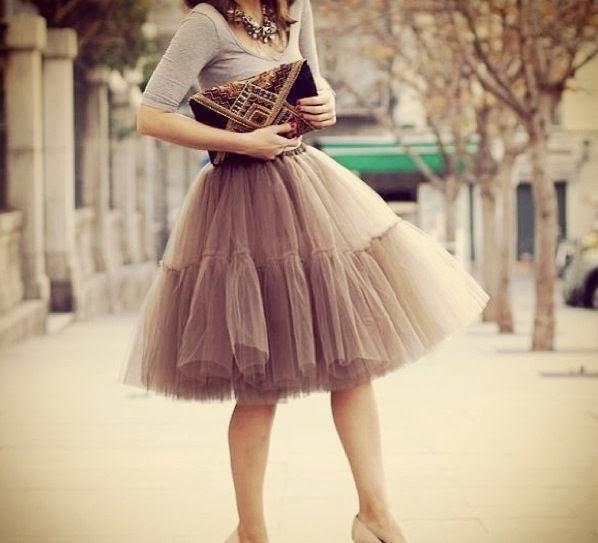faldas tutu de moda fotos