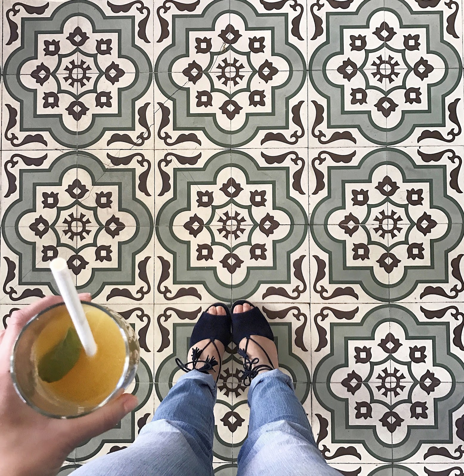 Tile envy, cute tile, cafe gratitude tile, i have something with floors