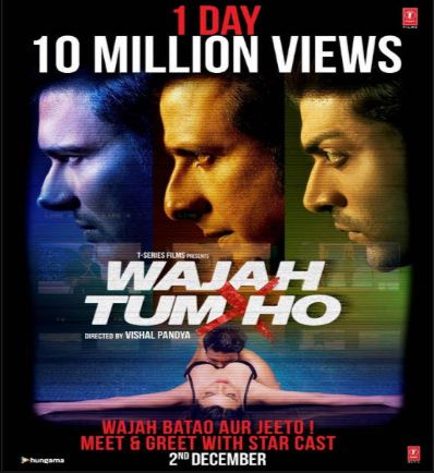 Wajah Tum ho Full movie box office collection, Download full movie song torrent MP3 HD Bluray