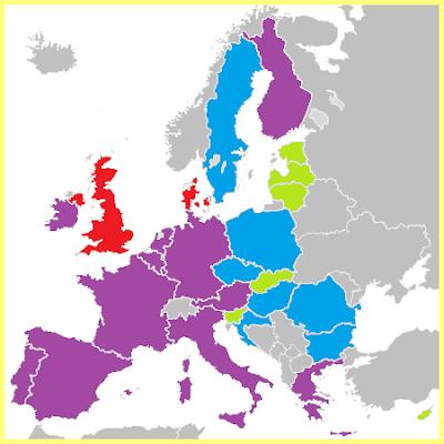 Mapa Ampliación Eurozona