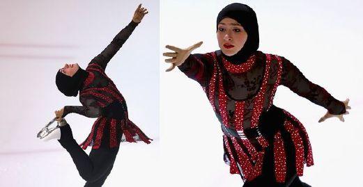 Zahra Puteri Ais Berhijab