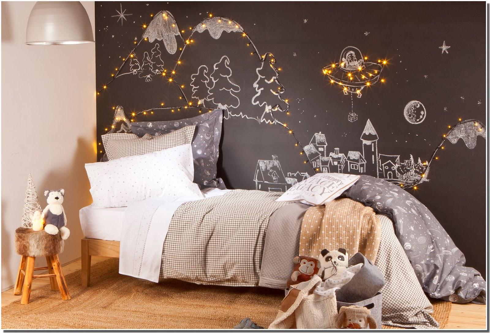 Nassima Home: Chambre enfant décoration Noël chez Zarahome 18
