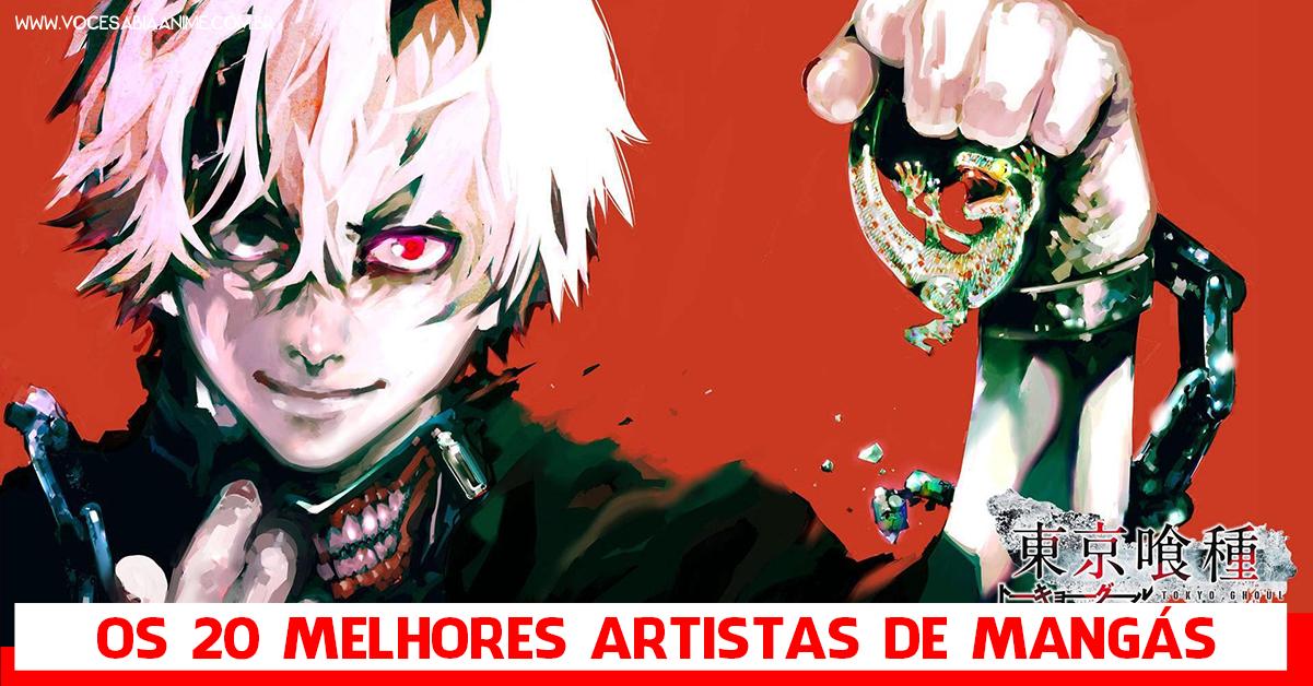 Os 20 Melhores Artistas de Mangás segundo os Japoneses