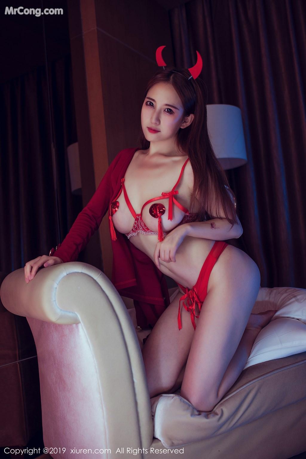 Image XIUREN-No.1538-Yue-Yin-Tong-MrCong.com-002 in post XIUREN No.1538: Yue Yin Tong (月音瞳) (49 ảnh)