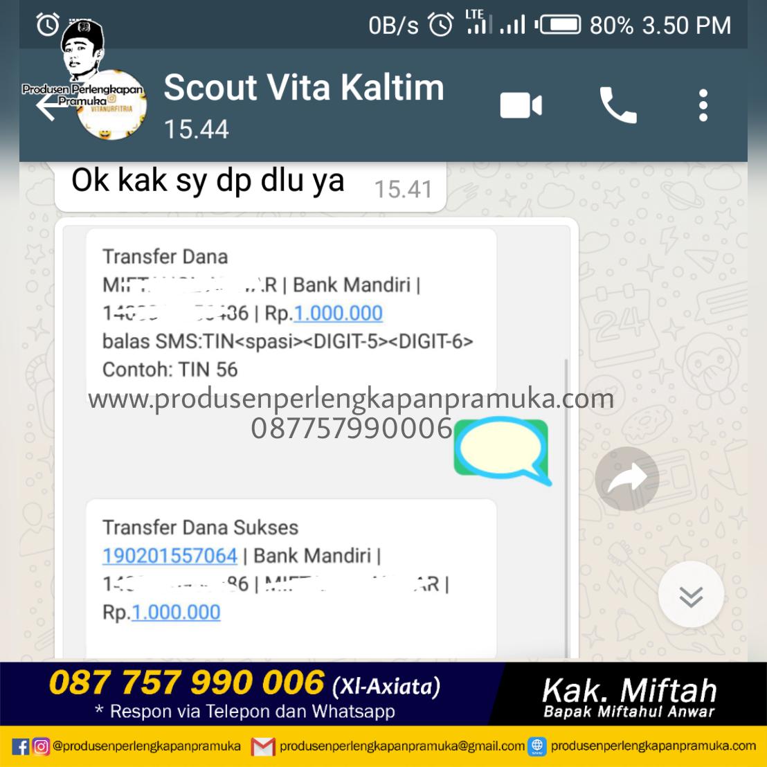 Customer Scout Kk Vita Kaltim
