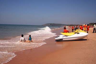 Calangute Beach- places to visit in  India