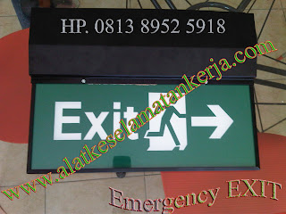 Emergency Exit Lamp Double Face
