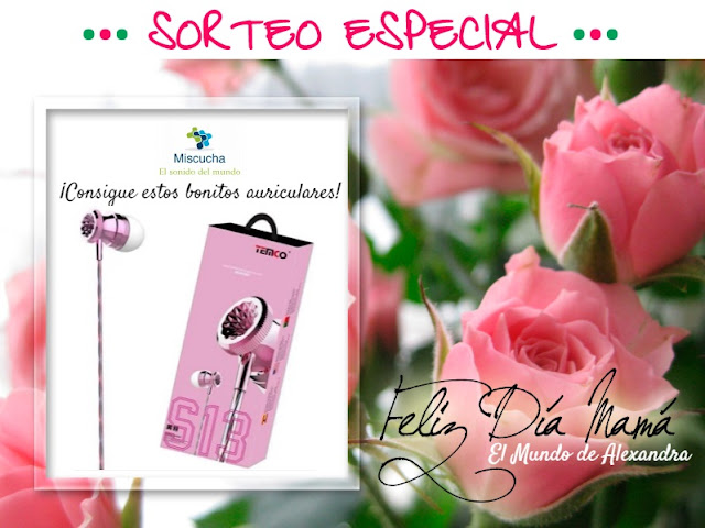auriculares rosa