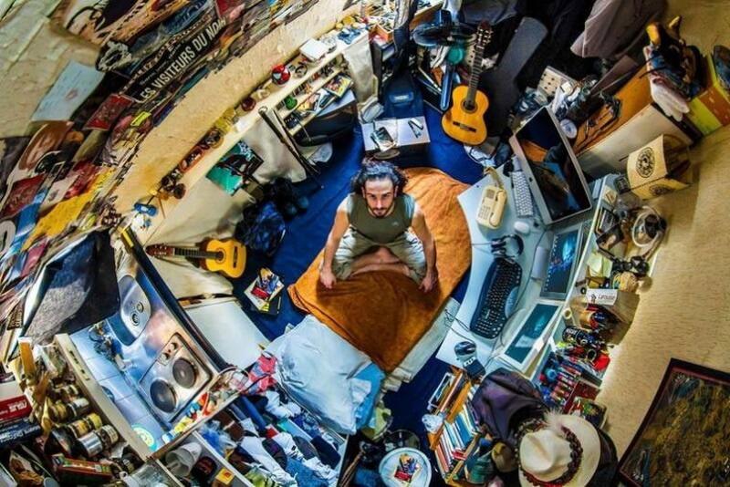 غرفة نوم من باريس- فرنسا