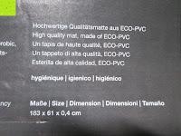 """Material: Yogamatte """"Yoganidra"""" Die ideale Yoga- und Gymnastikmatte für Yoga-Einsteiger. Maße: 183 x 61 x 0,4cm / Eulenmuster"""