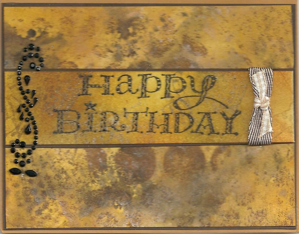 judy s stamp art masculine happy birthday