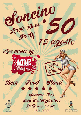 Soncino '50 Rock Beer Party 15 agosto Soncino (CR)