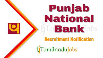 PNB Recruitment notification 2019, govt jobs for graduates