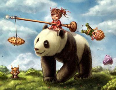 Asal Mula Warna Panda Hitam Putih