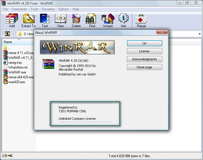 Create arj file