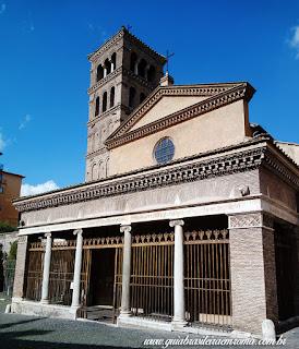 Fachada da Igreja de São Jorge al Velabro