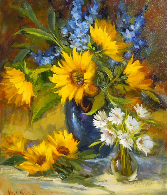 Indigo Fine Art Joy Of Flowers