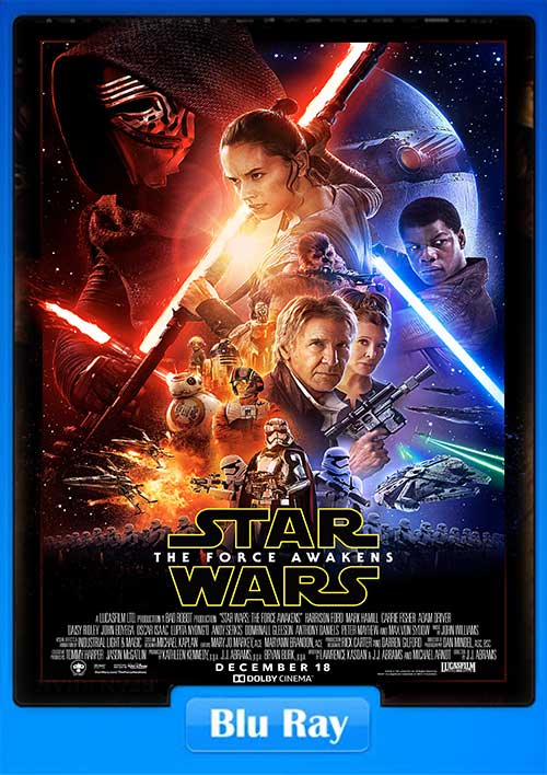 Star Wars Episode VII The Force Awakens 2015 720p BluRay 1017.8MB x264 Poster