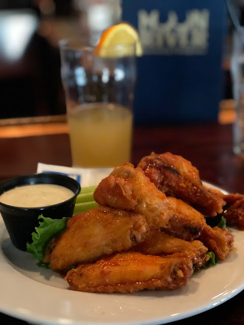Moon River Brewing Slap Hot Wings