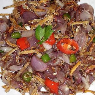 resep membuat sambal teri sederhana pedas