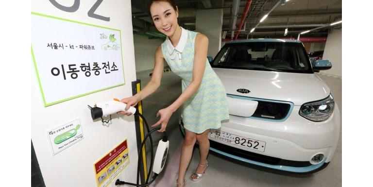 加速電動車布局,首爾2018年前增設10萬處路邊充電站