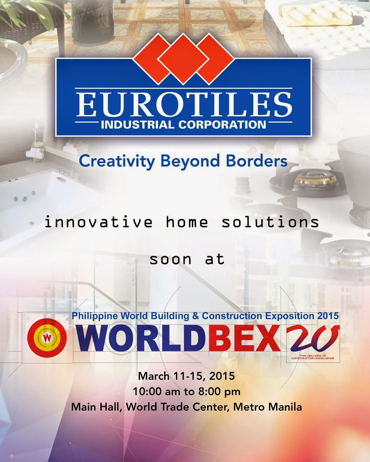 Eurotiles At Worldbex 2015 Eurotilesatworldbex2015