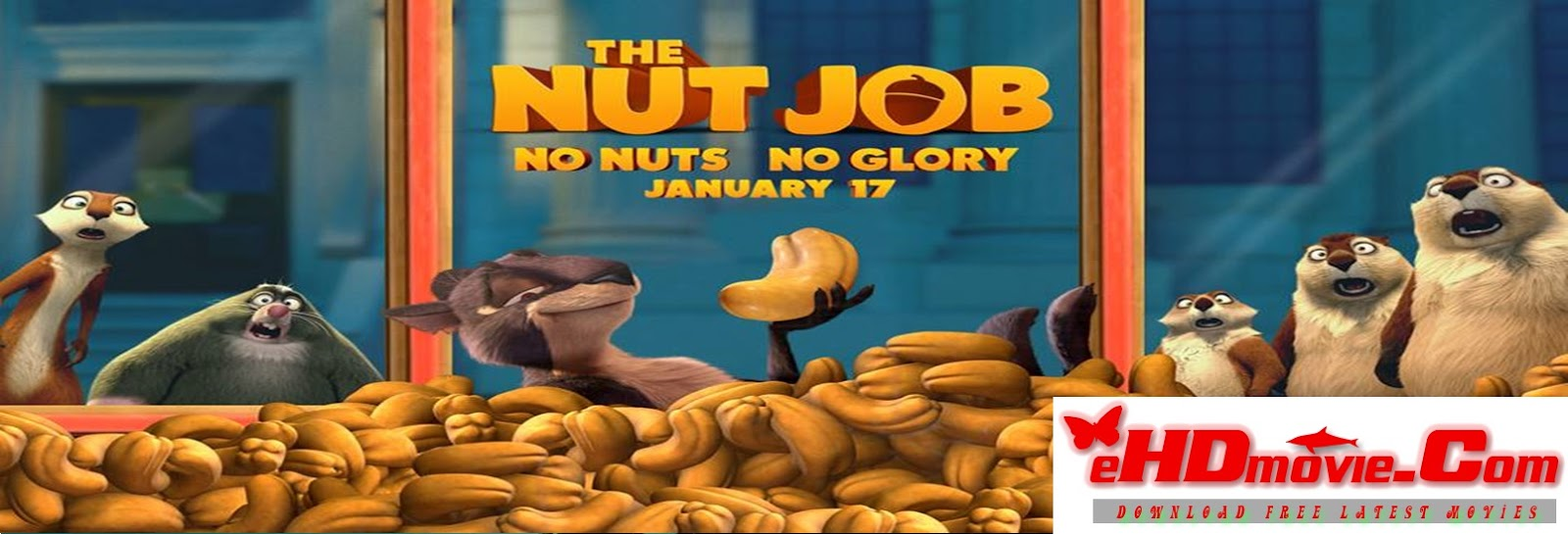The Nut Job 2014 Full Movie Dual Audio [Hindi – English] 720p - 480p ORG BRRip 300MB - 950MB ESubs Free Download