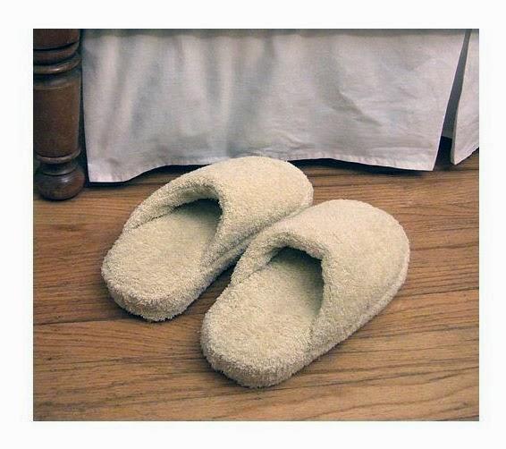 Тапочки махровые - из полотенец. Slippers Towels