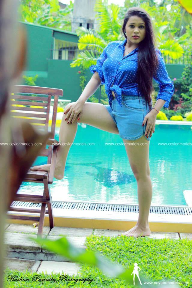 Shani Perera blue skirt 8