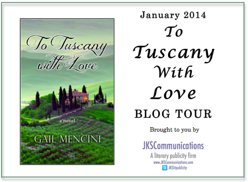 to tuscany with love blog tour banner