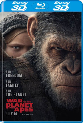 War For The Planet Of The Apes 2017 BD25 3D Latino