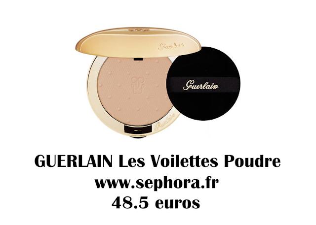 GUERLAIN Les Voilettes Poudre  | makeupwonderland29