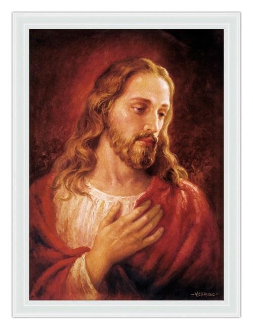 #PraCegoVer: Complacência de Jesus.