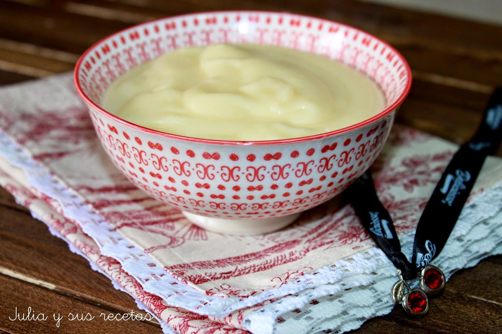 Crema pastelera. Julia y sus recetas