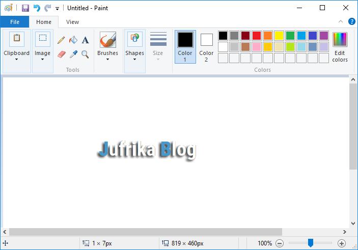 Cara Mudah Print Gambar Besar Pada Banyak Kertas Berukuran A4 Jufrika Blog