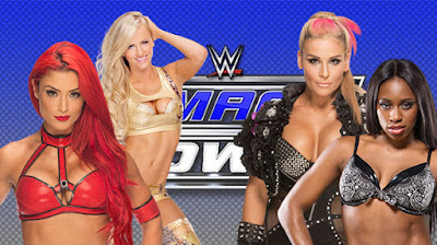 Two potential tag teams in the form of Eva Marie and Summer Rae going up against Naomi and Natalya on WWE SmackDown