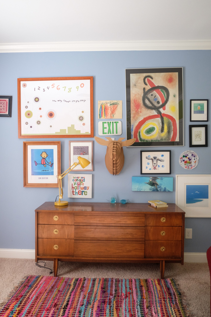 gallery wall- design addict mom